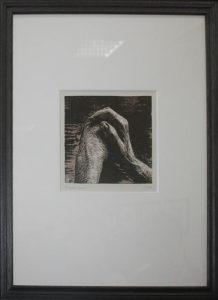 Генри Мур. Руки I. 1973 Литография.