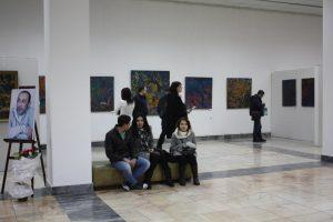 На открытии выставки -3