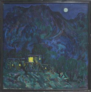 Пирматов Т. Ночь в горах.