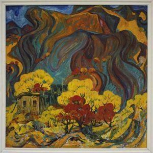 Пирматов Т. Осень в горах-2