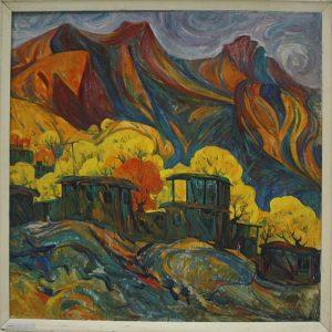 Пирматов Т. Осень в горах.