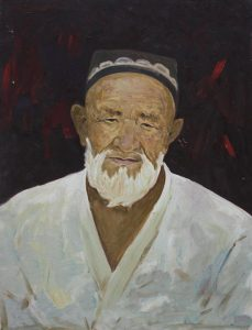 Пирматов Т. Портрет отца Иса