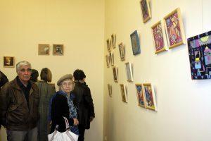 Посетители и художники-3