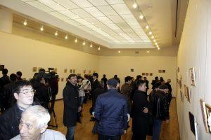 Посетители и художники