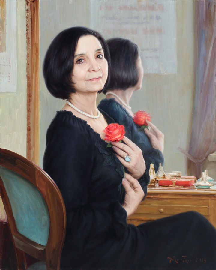 Арт-Трио. Народная артистка Узбекистана Малика Ибрагимова. 2014