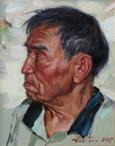 Арт-Трио. Портрет Рахима Ахмедова