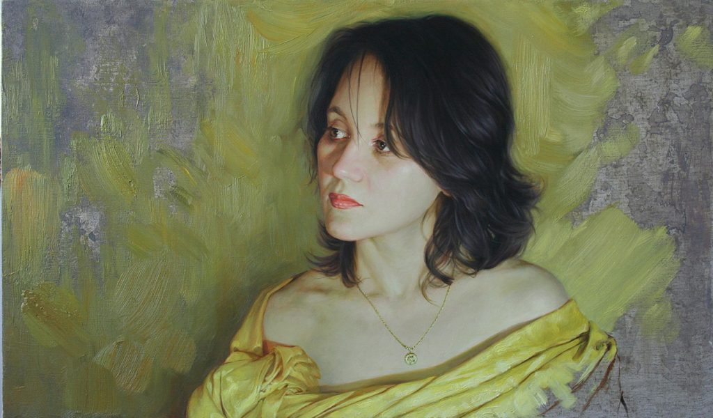 Арт-Трио. Портрет девушки-1