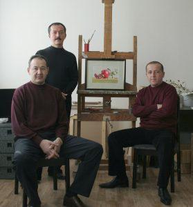 Азлярходжаев Мурод, Касимов Хусан, Алимханов Бахтиер