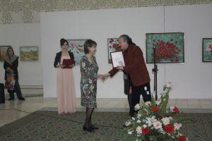 Награждение дипломом АХУз М.Ульмасову