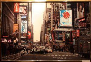 Нью-Йорк. США. Нижний город. Манхетен. 44 -я улица и Бродвей.