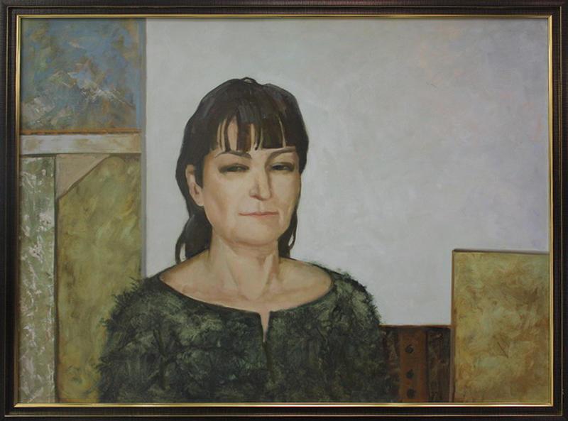 Ульмасова Муссавар. Автопортрет. 2014