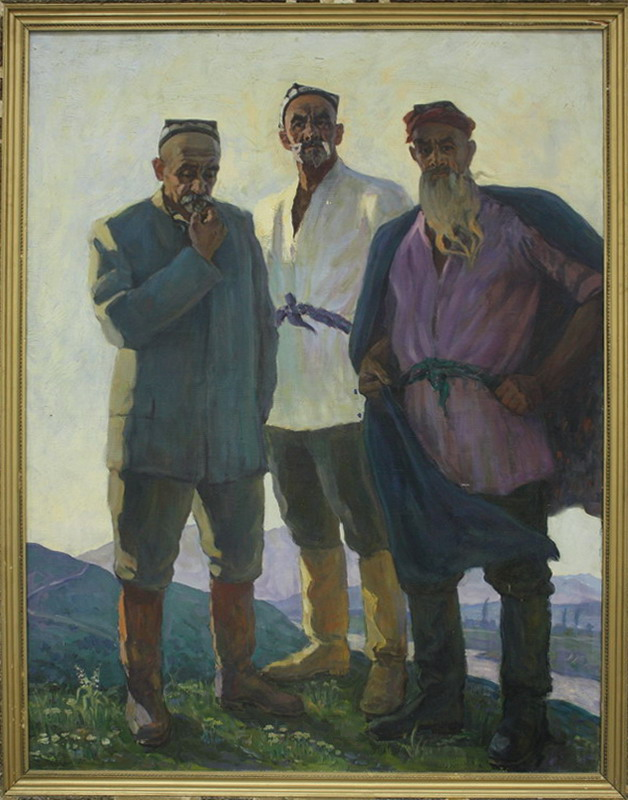Абдуллаев А. Сыны земли. 1970-73 (ДХВ)