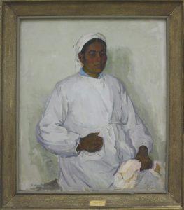 Ахмедов Р. Доярка. 1960