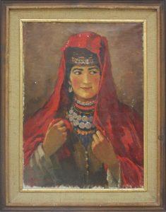 Аринин М. Девушка из Байсуна. 1942