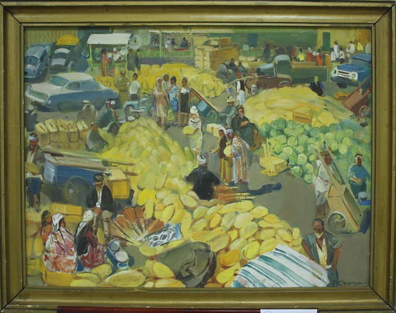 Чернухин Г. Осенний базар. 1970 (ДХВ)