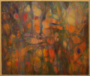 Флорида Гамбарова. Золотая рыбка. 1990