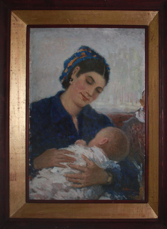 Кашина Н. _ Мать. 1961 (ДХВ)