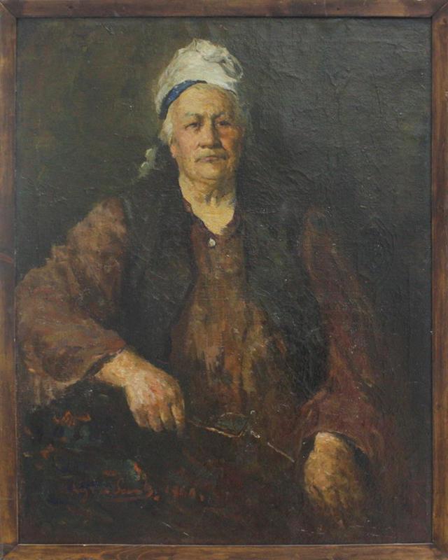 Кузыбаев Н. Бабушка. 1959
