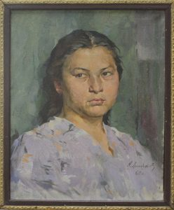 Линьков Н. Портрет Санам. 1960