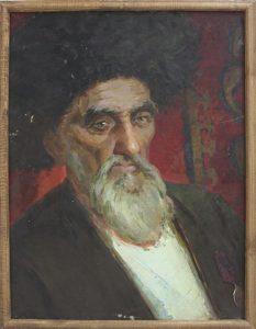 Лысов В. Портрет колхозника.