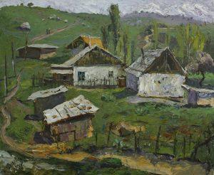 Мамедова Дилором. На холме. 2014