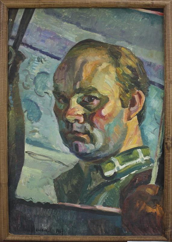 Мельников Евгений. Автопортрет. 1967 (ДХВ)