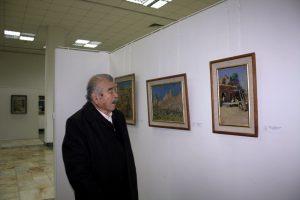 На выставке Мубарак Юлдашев