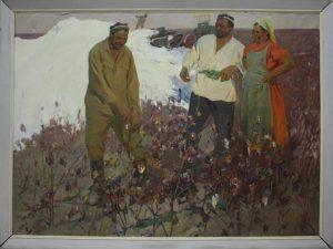Саидов М. Хлопок. 1967