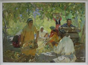 Саидов М. Сбор винограда. 1964
