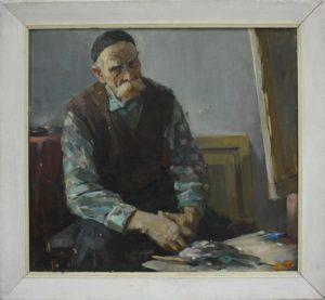 Семыкин Л. Портрет художника Павла Гана. 1967