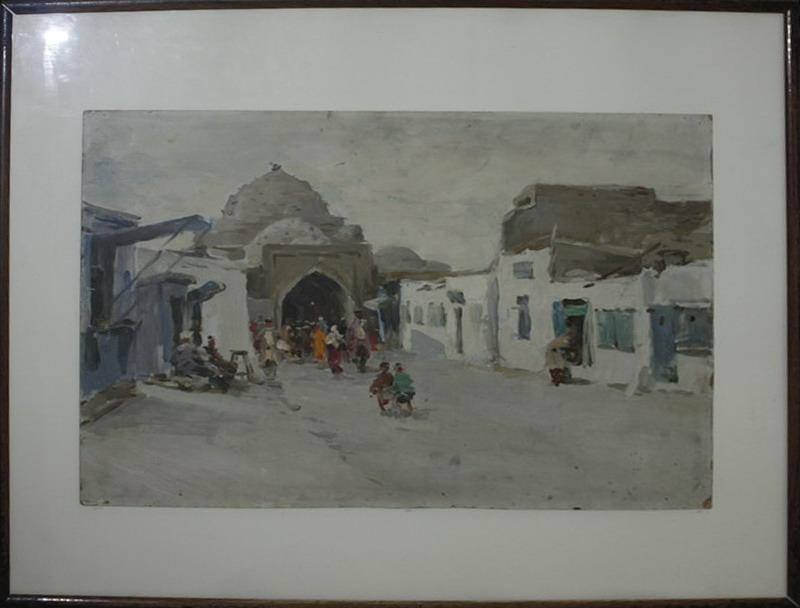 Соседов В. Бухара. Крытый базар. 1959