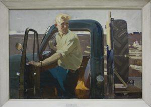 Жмакин В. Шофёр. 1964