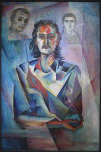Аджиметов Кудратилла. Автопортрет. 1988