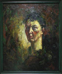 Аджиметов Кудратилла. Портрет Розали - жены художника. 2015