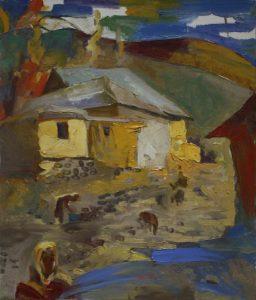Аджиметов Кудратилла. Солнечный дом. 2005