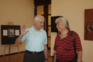 Беседа. Б.Бабаев и Ж.Умарбеков