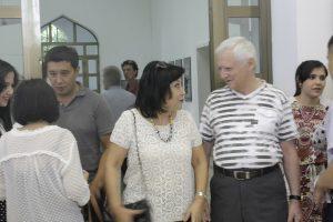 Встреча. Б.Бабаев и Э.Ахмедова.