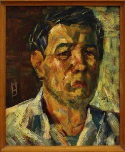 Жоллыбай Изентаев.  Автопортрет. 1981