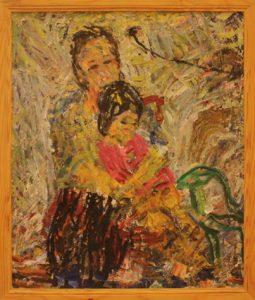 Жоллыбай Изентаев. Дочка и внучка.