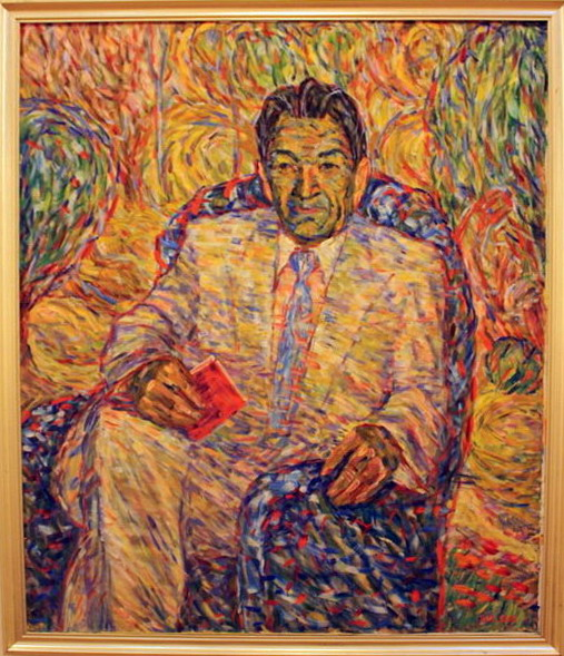 Жоллыбай Изентаев. Поэт И.Юсупов. 2002