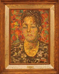 Жоллыбай Изентаев.  Портрет Бахтигул. 1997