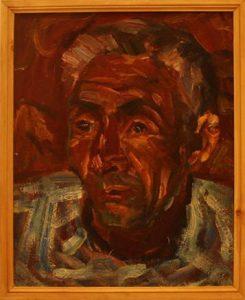 Жоллыбай Изентаев. Портрет Узакбая Сафарова.