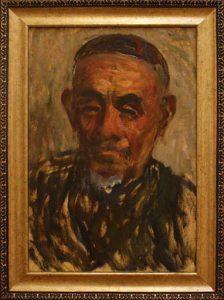 Жоллыбай Изентаев. Портрет рыбака мамбеткадырова.1978