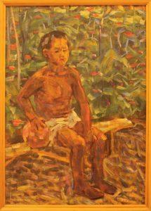 Жоллыбай Изентаев. Портрет сына нукусбая. 1985