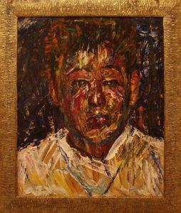 Жоллыбай Изентаев. Портрет сына.