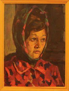Жоллыбай Изентаев. Портрет жены. 1971