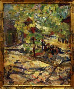 Жоллыбай Изентаев. Весна в Нукусе. 1993