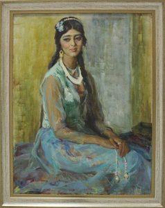 А. Винер. Портрет девушки. 1980 (AKG)