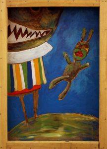 Джама Адылов. Мегаладон и кролик самец. 2014