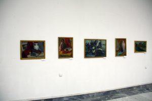 Экспозиция живописи. Паруб Михаил.